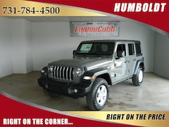 New 2018 Jeep Wrangler UNLIMITED SPORT S 4X4 Sport Utility Humboldt, Tennessee
