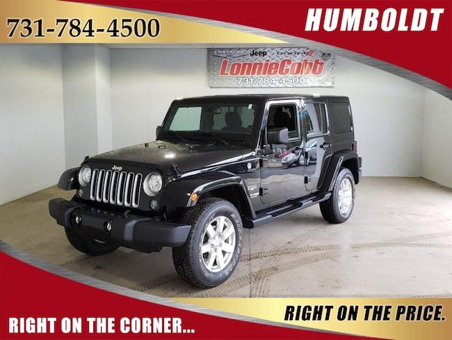 Used 2018 Jeep Wrangler JK Unlimited Sahara SUV Humboldt