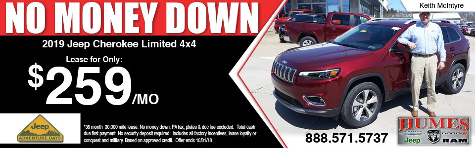Humes Chrysler Jeep Dodge RAM Dealer Erie, Meadville PA | New U0026 Used Cars,  Parts, Service In Waterford PA