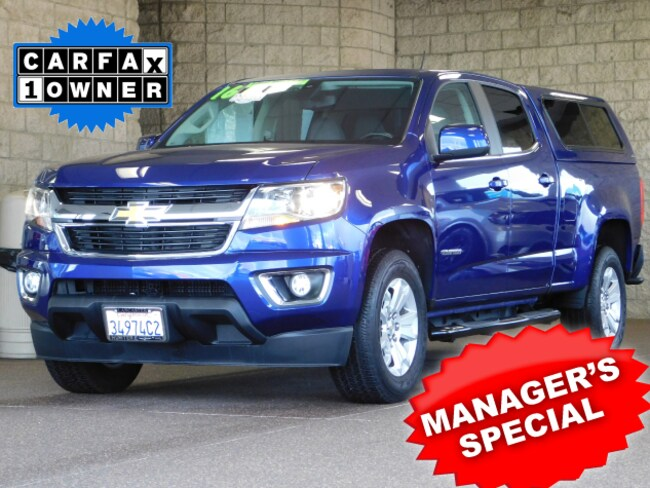 Used  2016 Chevrolet Colorado LT Truck Crew Cab For sale in Lancaster CA