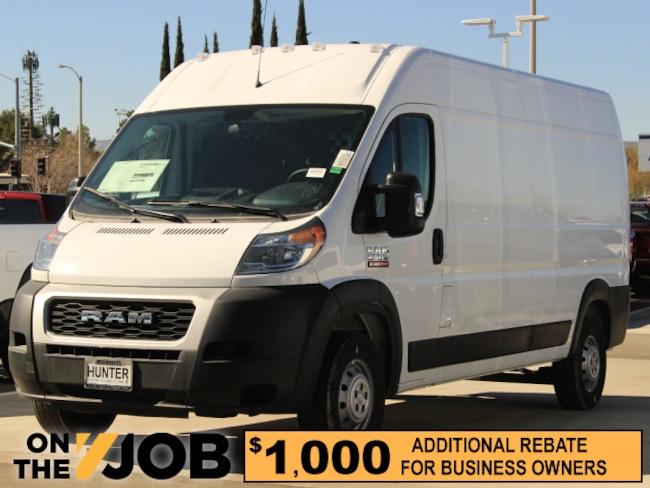 New 2019 Ram ProMaster HVAC 2500 CARGO VAN LOW ROOF 159 WB Cargo Van For Sale in Lancaster, CA