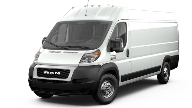 New 2019 Ram ProMaster 3500 CARGO VAN HIGH ROOF 159 WB EXT Extended Cargo Van For Sale in Lancaster, CA