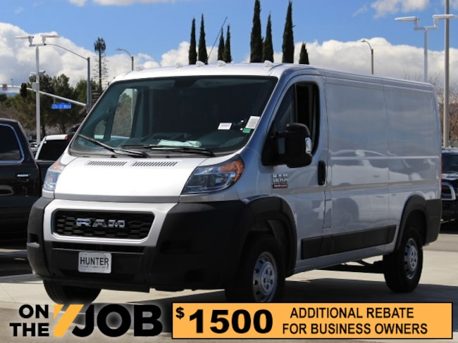 New 2019 Ram ProMaster 1500 CARGO VAN LOW ROOF 136 WB Cargo Van For Sale in Lancaster, CA