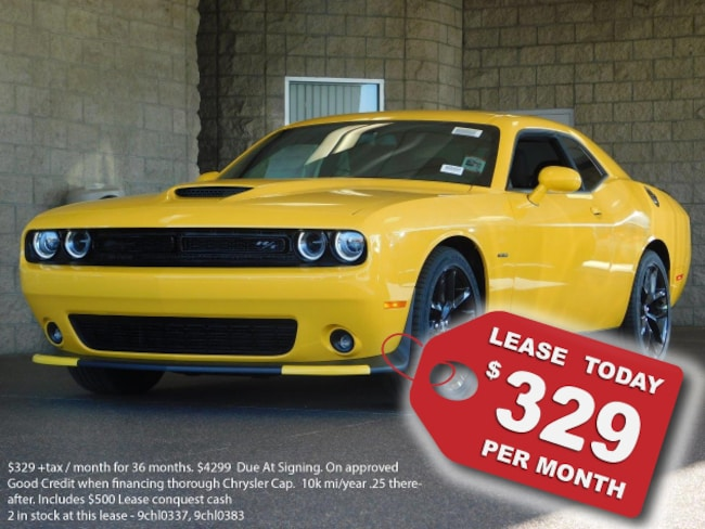 New 2019 Dodge Challenger R/T Coupe For Sale in Lancaster, CA