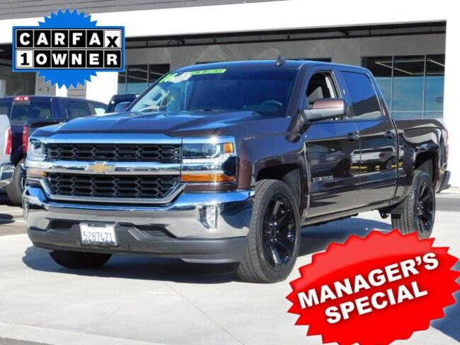 Used  2016 Chevrolet Silverado 1500 LT w/1LT Truck Crew Cab For sale in Lancaster CA
