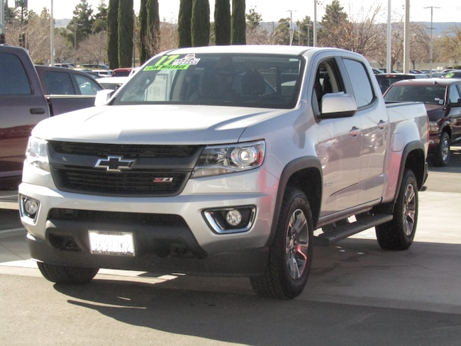 Used  2017 Chevrolet Colorado Z71 Truck Crew Cab For sale in Lancaster CA