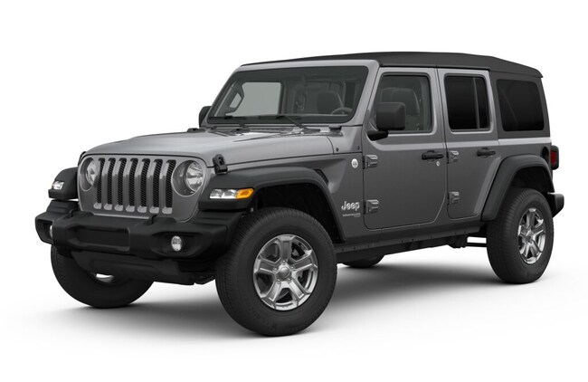 New 2019 Jeep Wrangler UNLIMITED SPORT S 4X4 Sport Utility For Sale in Lancaster, CA