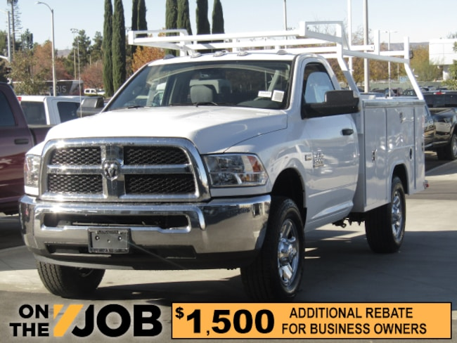 New 2018 Ram 3500 Commercial Utility 60