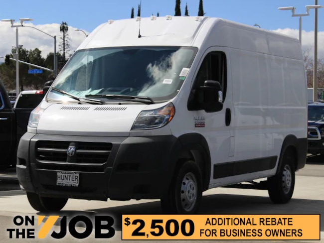 New 2018 Ram ProMaster 2500 CARGO VAN HIGH ROOF 136 WB Cargo Van For Sale in Lancaster, CA