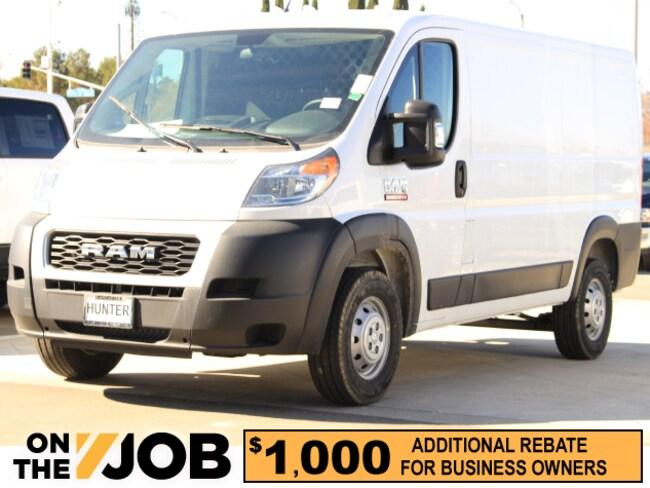 New 2019 Ram ProMaster HVAC 1500 CARGO VAN LOW ROOF 136 WB Cargo Van For Sale in Lancaster, CA