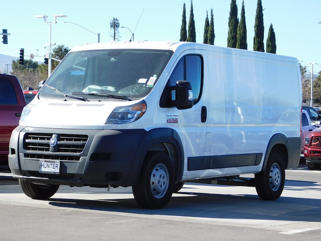 New 2018 Ram ProMaster 1500 CARGO VAN LOW ROOF 136 WB Cargo Van For Sale in Lancaster, CA