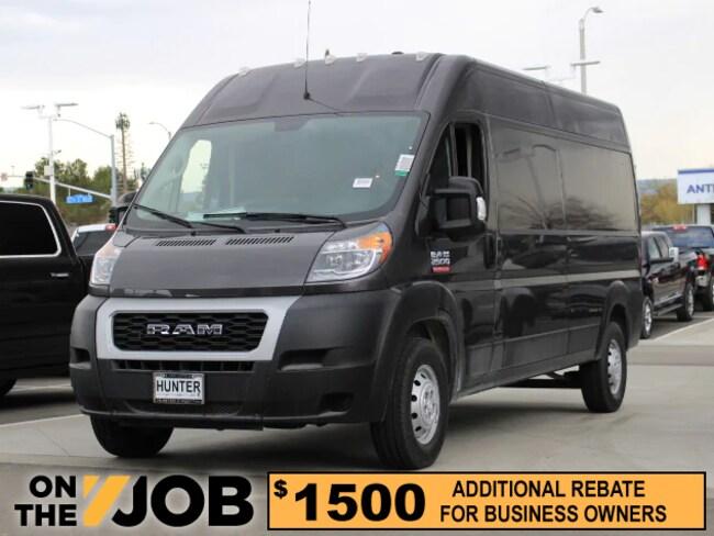 New 2019 Ram ProMaster 2500 CARGO VAN HIGH ROOF 159 WB Cargo Van For Sale in Lancaster, CA