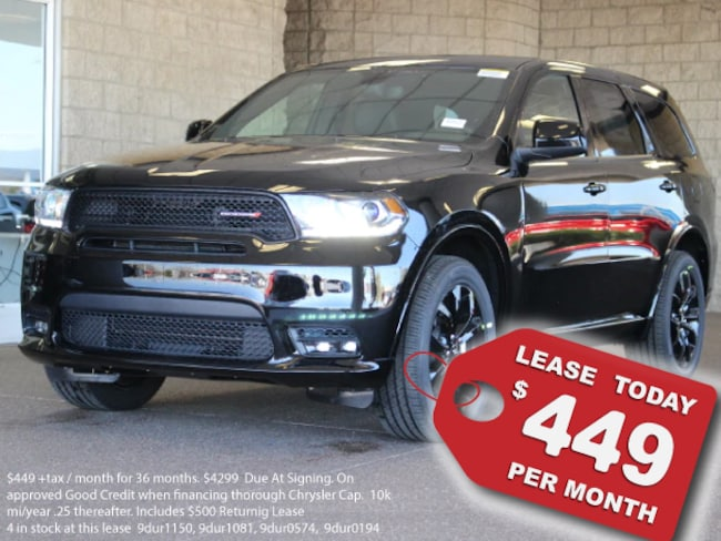 New 2019 Dodge Durango GT AWD Sport Utility For Sale in Lancaster, CA