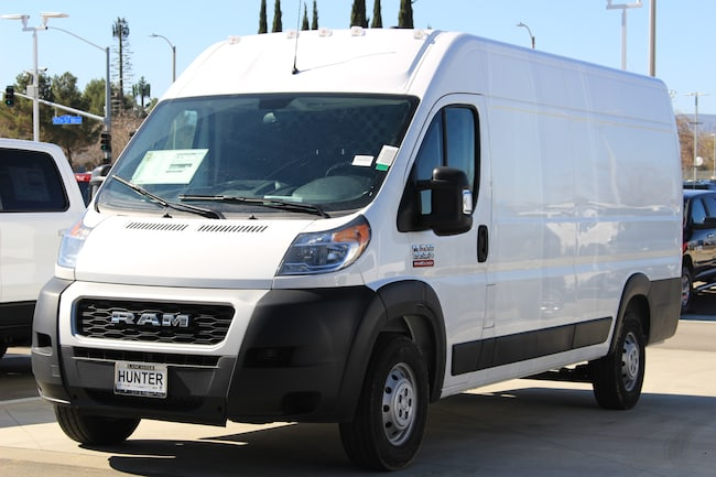 New 2019 Ram ProMaster HVAC 3500 CARGO VAN HIGH ROOF 159 EXT WB Extended Cargo Van For Sale in Lancaster, CA