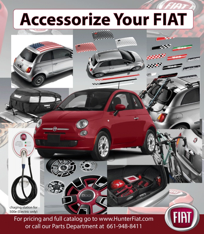 Accessorize your FIAT in Lancaster, CA at Hunter FIAT