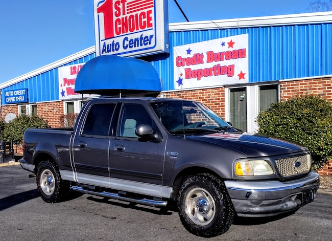 2003 Ford F-150 SuperCrew XLT Truck SuperCrew Cab