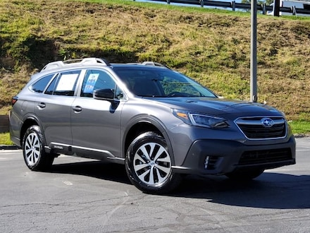 Featured new 2021 Subaru Outback Premium SUV for sale near Hendersonville, NC
