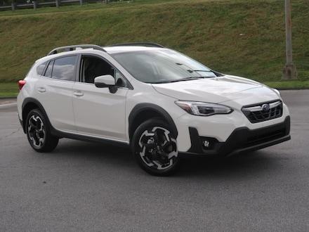 Featured new 2021 Subaru Crosstrek Limited SUV for sale near Hendersonville, NC