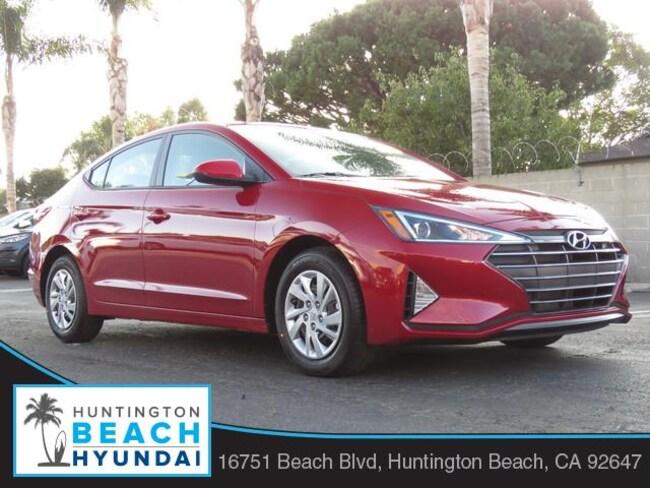 New 2019 Hyundai Elantra SE Sedan in Huntington Beach