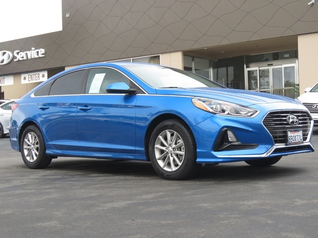 Featured pre-owned 2018 Hyundai Sonata SE w/SULEV Sedan for sale near you in Huntington Beach, CA