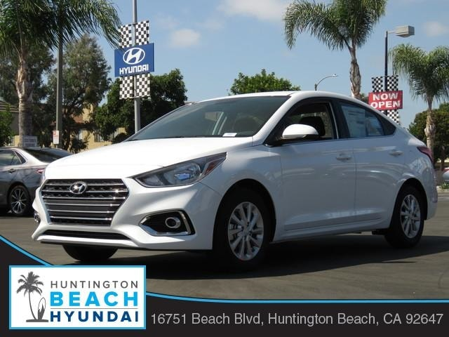 Featured new 2019 Hyundai Accent SEL Sedan for sale near you in Huntington Beach, CA