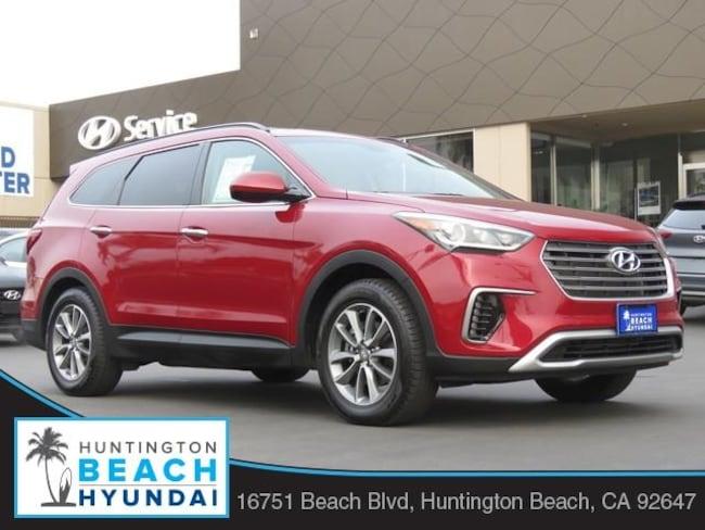 2018 Hyundai Santa Fe SE SUV