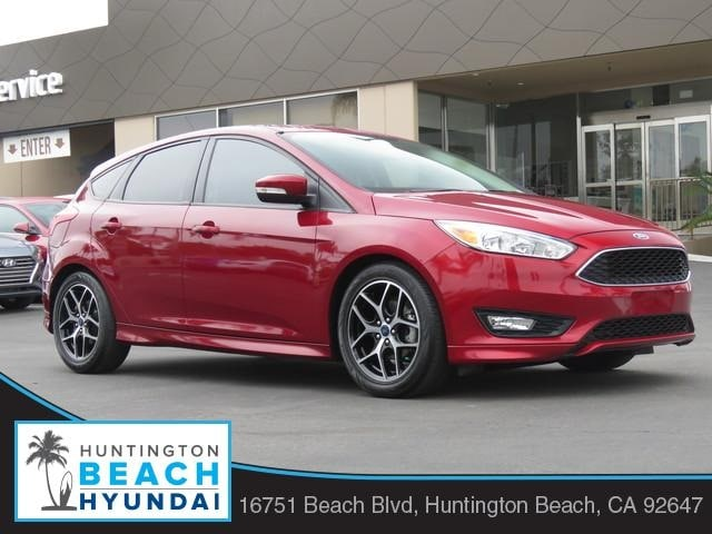 Featured pre-owned 2016 Ford Focus SE Hatchback for sale near you in Huntington Beach, CA