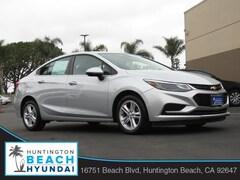 2017 Chevrolet Cruze LT Auto Sedan for sale near you in Huntington Beach, CA