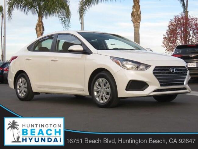 New 2019 Hyundai Accent SE Sedan in Huntington Beach