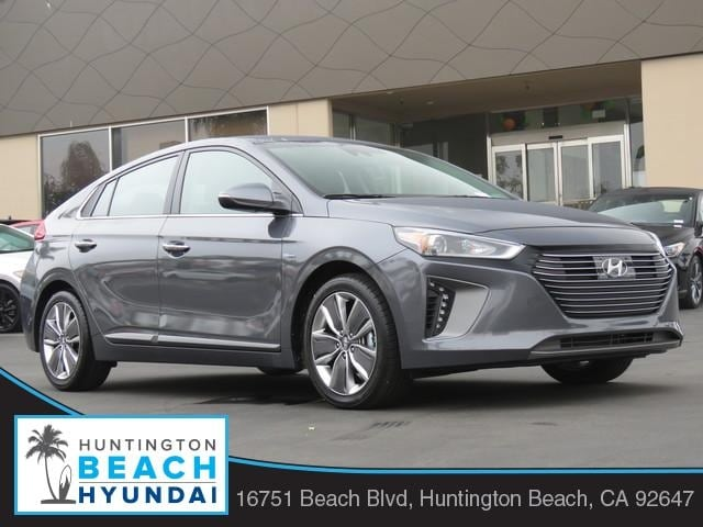 Featured new 2019 Hyundai Ioniq Hybrid Limited Hatchback for sale near you in Huntington Beach, CA
