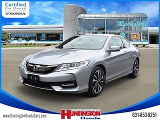 Certified Pre-Owned 2016 Honda Accord EX Coupe for Sale in Huntington, NY at Huntington Honda
