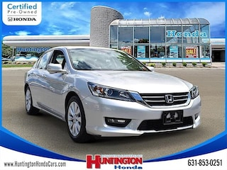 Certified Pre-Owned 2015 Honda Accord EX-L Sedan for Sale in Huntington, NY at Huntington Honda