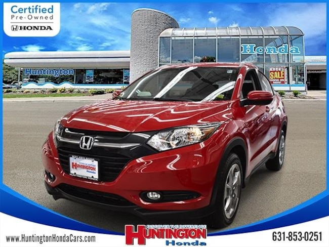 Certified 2016 Honda HR-V EX-L w/Navigation AWD SUV for sale in Huntington NY on Long Island.