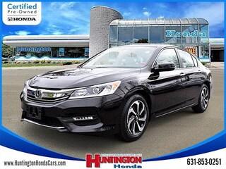 Certified Pre-Owned 2016 Honda Accord EX-L Sedan for Sale in Huntington, NY at Huntington Honda