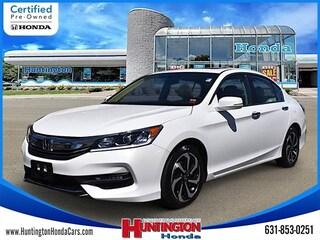 Certified Pre-Owned 2016 Honda Accord EX Sedan for Sale in Huntington, NY at Huntington Honda