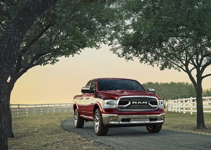 2018 Ram 1500 Laramie Limited Front Red Exterior