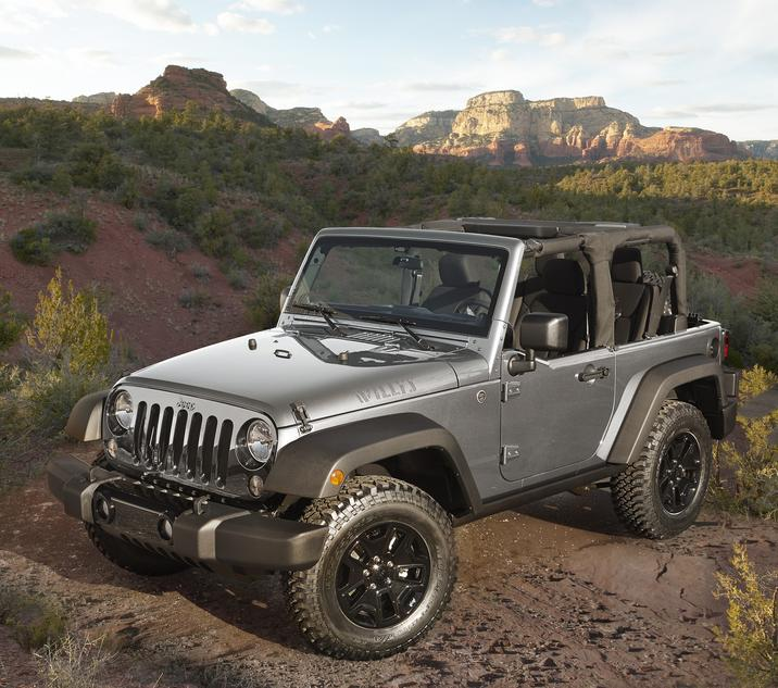 2017 Jeep Wrangler Willys Wheeler Exterior
