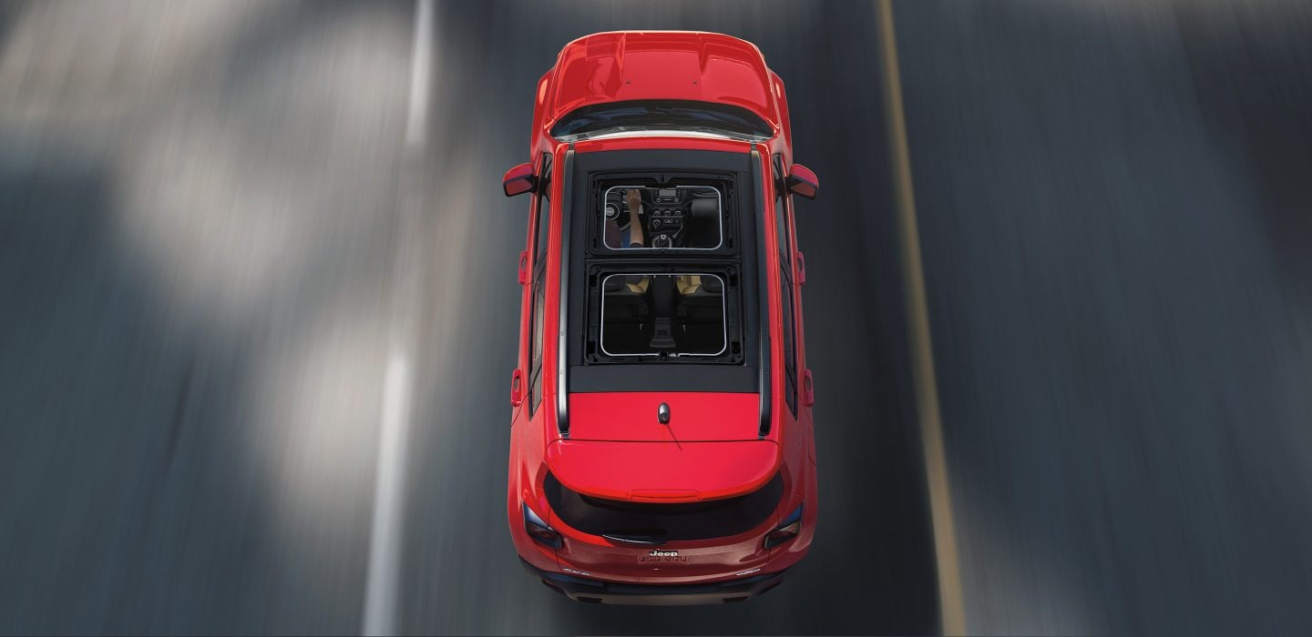 2018 Jeep Renegade Rear Red Exterior