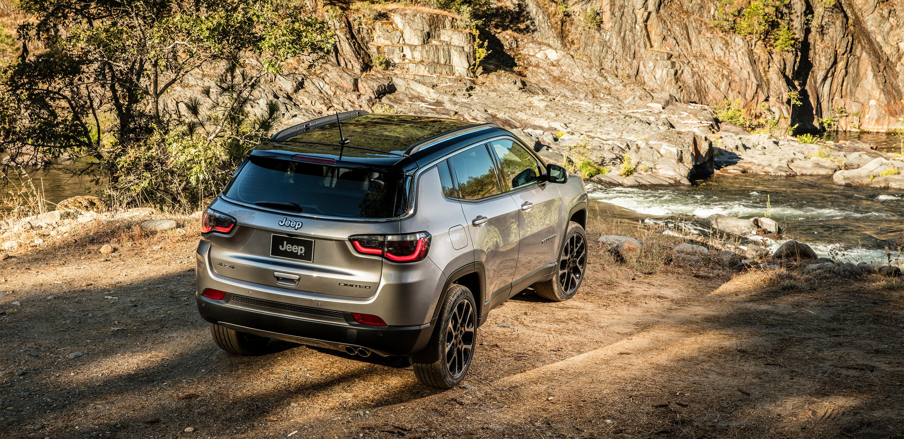 2017 All-New Jeep Compass Rear Exterior