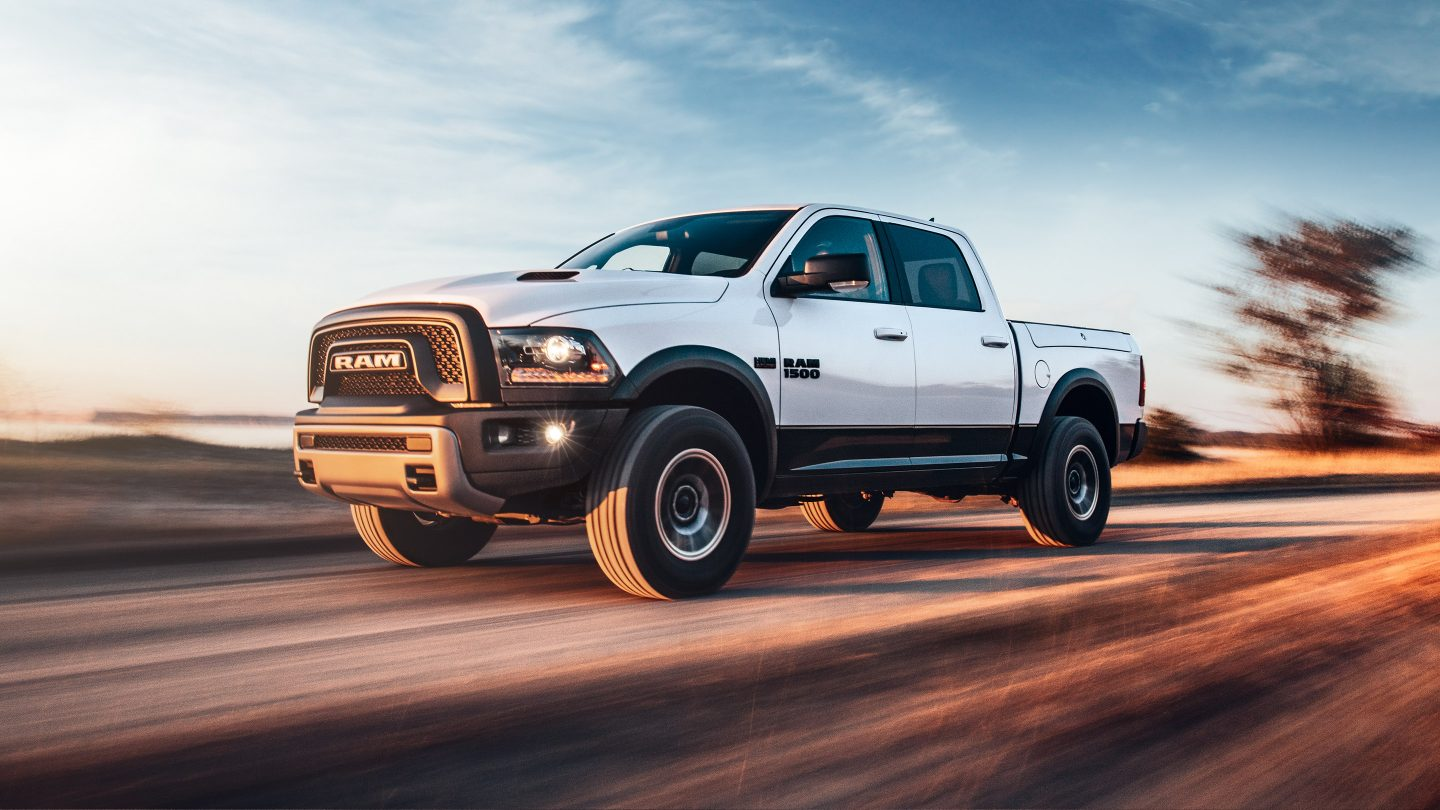 2018 Ram 1500 Side White Exterior