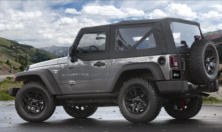 2017 Jeep Wrangler Willys Wheeler Side Exterior