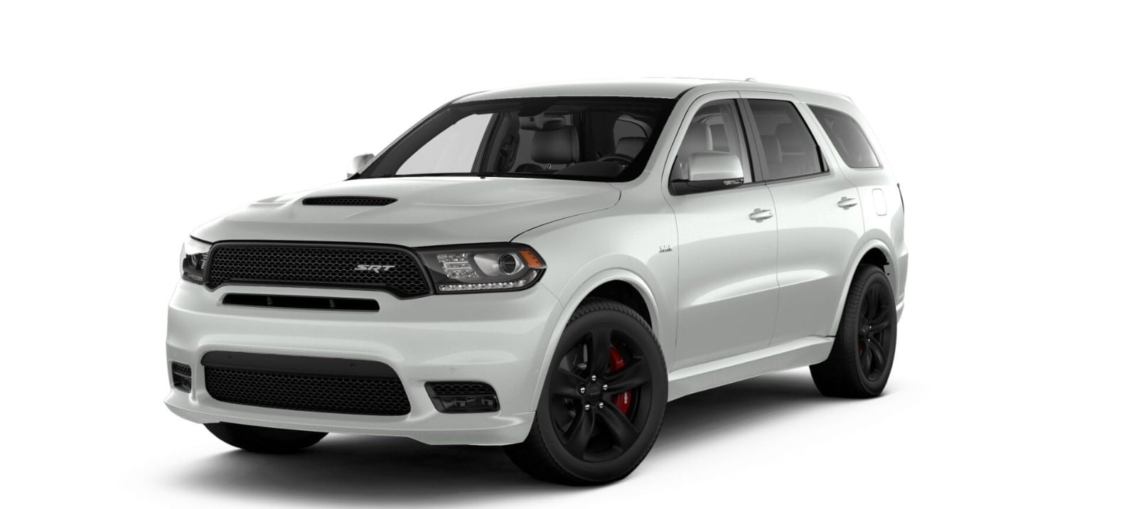 2018 Dodge Durango SRT Front White Exterior