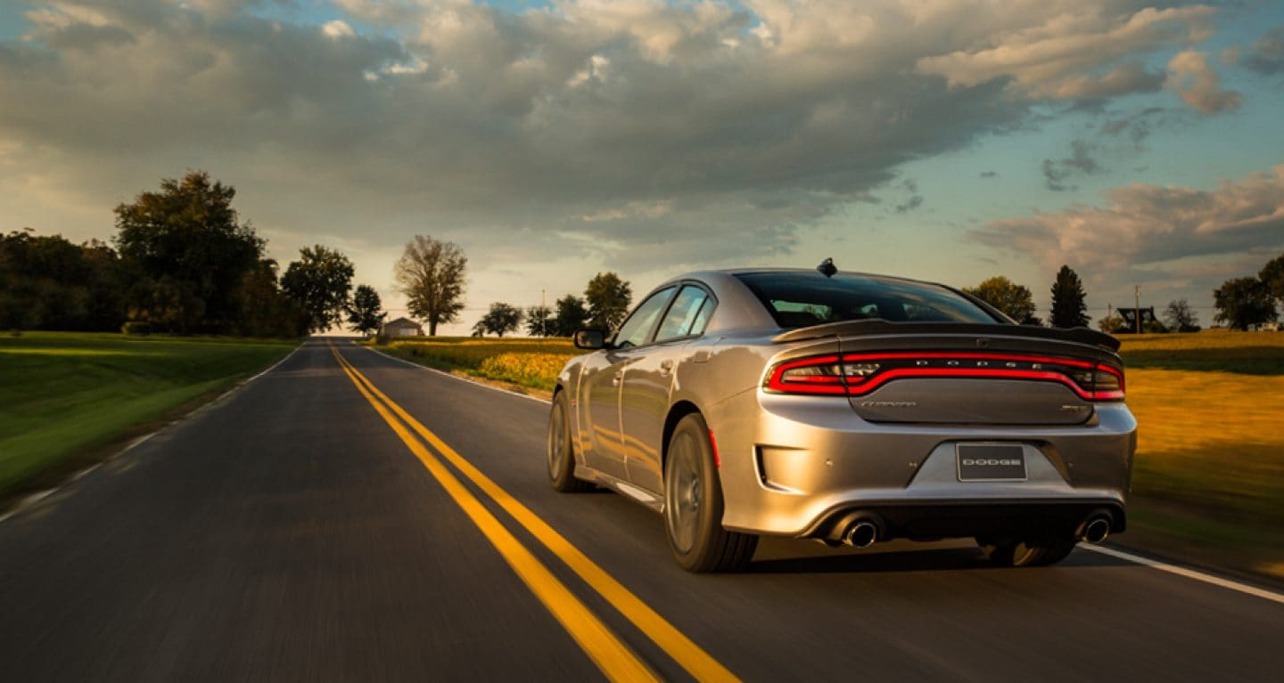 2018 Dodge Charger Rear Exterior