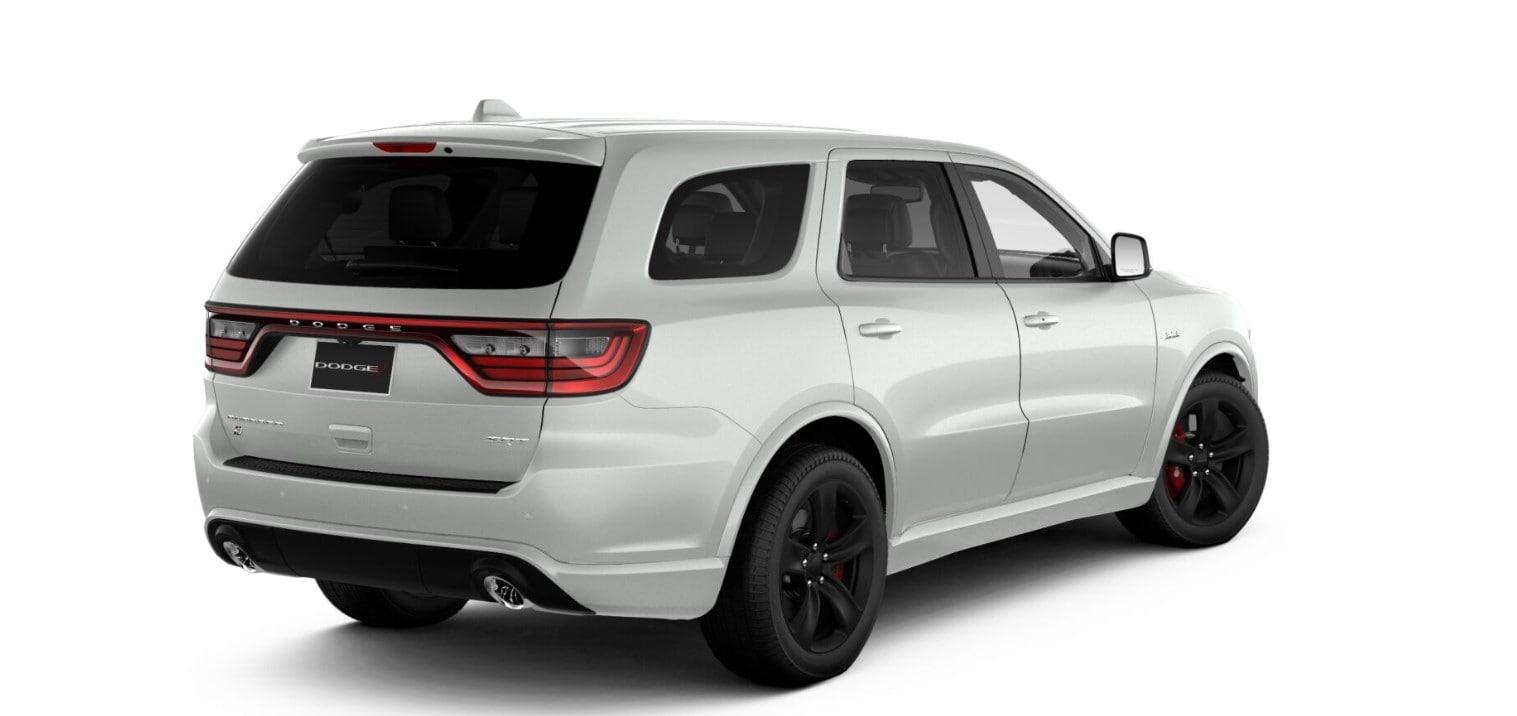 2018 Dodge Durango SRT Rear White Exterior