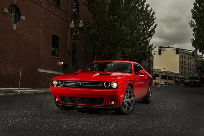 2018 Dodge Challenger SXT Plus Red Front Exterior