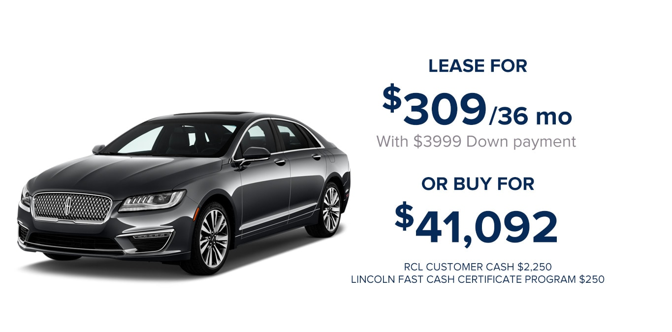 Lincoln Mkz Lease >> 2019 Lincoln Mkz Lease Special Huntington Lincoln