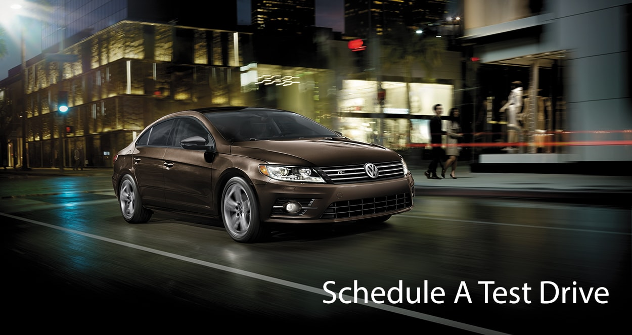 Schedule A Test Drive Volkswagen Of Huntington