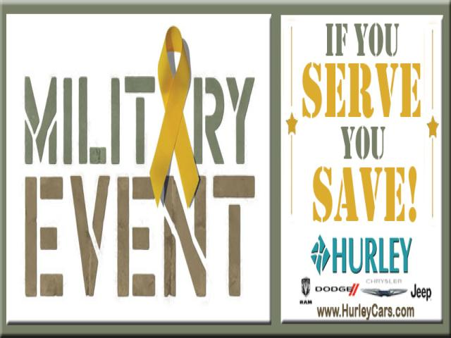 Military Cash Back Bonus Event Hurley Cars DeLand