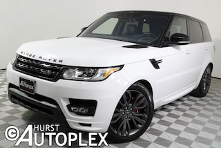 Used 2017 Land Rover Range Rover Sport 3.0L V6 Supercharged HSE SUV for sale in Fort Worth