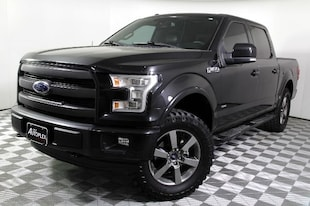 2015 Ford F-150 Lariat One Owner 4WD Truck SuperCrew Cab